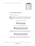 Chapter  HOW TO READ MUSICAL RH YTHM LIKE A GENI US Swung Eighth Notes