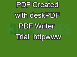 PDF Created with deskPDF PDF Writer  Trial  httpwww PowerPoint PPT Presentation