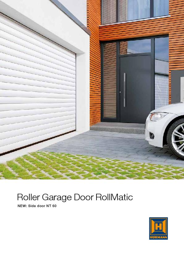 Roller Garage Door RollMaticNEW: Side door NT60