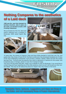 FusionInternationalatParisBoatShow Syd ey Bat Shw Starts this m th I received an e ail last week fro a per son that had spent ti e calculating the cost of building a Cata aran to the Hull and Deck st