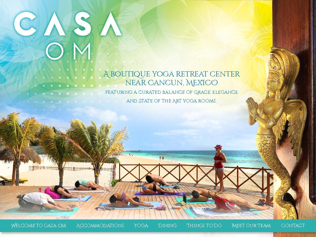 A boutique yoga retreat center near Cancun, MExICOfeaturing a curated