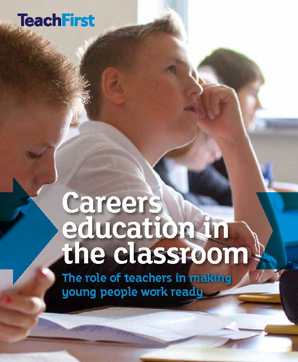 Careers education in the classroom