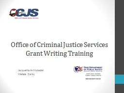 Office of Criminal Justice Services
