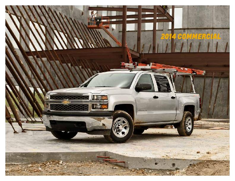 At Chevrolet, we're proud to build commercial vehicles as dependa PowerPoint PPT Presentation