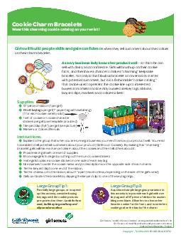 Copyright   KELLOGG NA CO  Girl Scouts and Girl Scout Cookies are registered trademarks of the Girl Scouts of the USA and are used pursuant to license