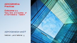 Administrative Practices PowerPoint PPT Presentation