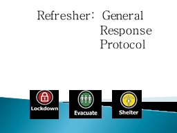 Refresher: General