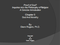 Proof of God? PowerPoint Presentation, PPT - DocSlides