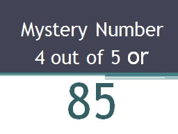 Mystery Number
