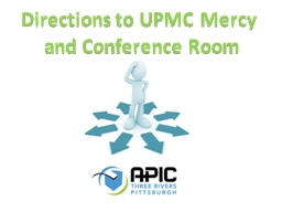Directions to UPMC Mercy