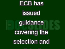 Section   ECB Guidelines for Junior Players in Open Age Group Cricket  June  The ECB has issued guidance covering the selection and participation of young players in open age group cricket
