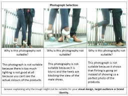 Photograph Selection PowerPoint PPT Presentation