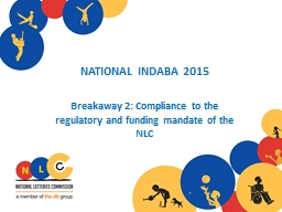 NATIONAL INDABA 2015 PowerPoint PPT Presentation