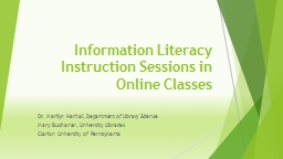 Literacy instruction: Connecting to online faculty and stud