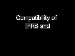 Compatibility of IFRS and