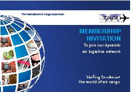 MEMBERSHIP INVITATION To join our dynamic air logistics network The International Air Cargo Association Working to advance the world of air cargo  TIACA is a notforprot worldwide trade association th