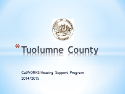 CalWORKS Housing Support Program