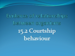 Evidence of relationships between organisms PowerPoint PPT Presentation