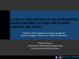 CLINICAL EVALUATION OF AN ULTRASOUND BASED IMAGING SYSTEM F