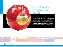 Introduction Programme