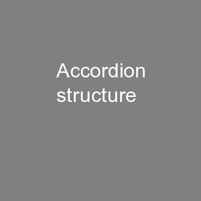 Accordion Structure PowerPoint PPT Presentation