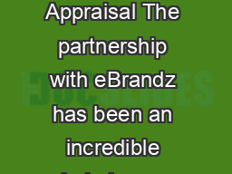 Case Study Union Diamond eBrandz Appraisal The partnership with eBrandz has been an incredible help in our overall business development