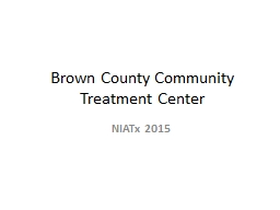 Brown County Community Treatment Center