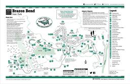 Brazos River Big Creek Hale Lake Creekfield Lake Pilant Slough Elm Lake  Acre Lake Prairie Trail