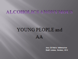 YOUNG PEOPLE and