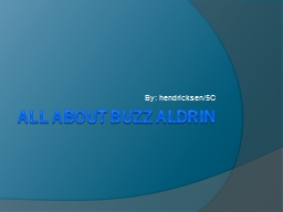 All about Buzz PowerPoint PPT Presentation