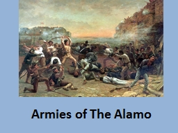 Armies of The Alamo