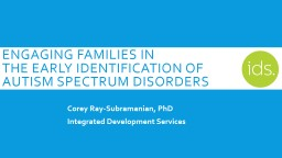 Engaging families in