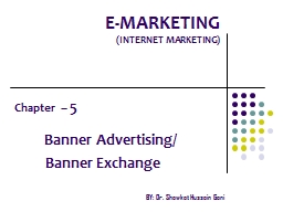 E-MARKETING PowerPoint PPT Presentation
