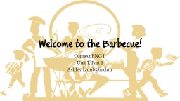 Welcome to the Barbecue! PowerPoint PPT Presentation