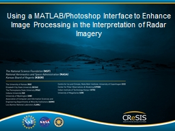 Using a MATLAB/Photoshop Interface to Enhance Image Process