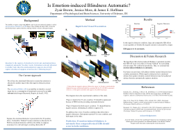 Is Emotion-induced Blindness Automatic?