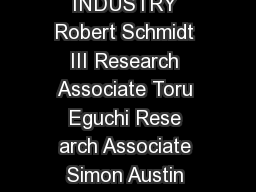 WHAT IS THE MEANING OF ADAPTABILITY IN THE BUILDING INDUSTRY Robert Schmidt III Research Associate Toru Eguchi Rese arch Associate Simon Austin Professor Alistair Gibb Professor Loughborough Universi PowerPoint PPT Presentation