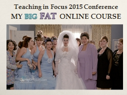 Teaching in Focus 2015 Conference