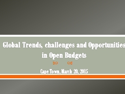 New frontiers in fiscal openness: open fiscal data and part