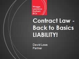 Contract Law - Back