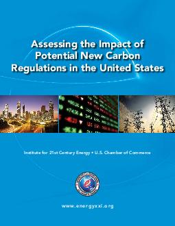 Assessing the Impact of Potential New Carbon Regulations in the United States Institute for st Century Energy  U