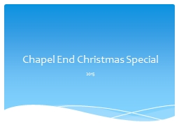 Chapel End Christmas Special