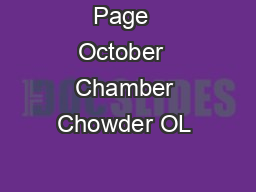 Page  October  Chamber Chowder OL