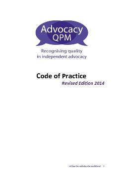 A CODE OF PRACTICE F