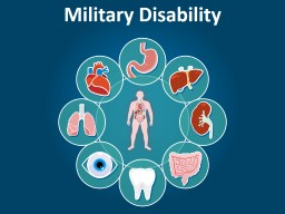 Military Disability PowerPoint PPT Presentation