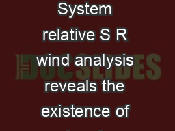 Atmospheric Conveyor Belts Fronts Aloft National Weather Service Louisville KY  System relative S R wind analysis reveals the existence of sharply defined boundaries which separate air streams of vas