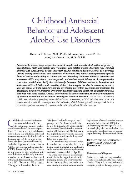 alcohol and adolescents Alcohol is the drug of choice for adolescents, with cigarettes and marijuana being  second and third contrary to widespread belief, alcohol.