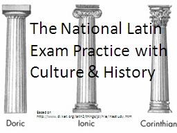 Based on http://www.dl.ket.org/latin2/things/jcl/nle/nlestu PowerPoint PPT Presentation