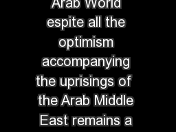 Efraim Inbar Israels National Security Amidst Unrest in the Arab World espite all the optimism accompanying the uprisings of  the Arab Middle East remains a stagnant region in deep socio political cr PowerPoint PPT Presentation
