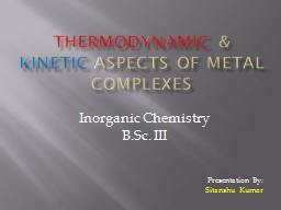 THERMODYNAMIC PowerPoint PPT Presentation